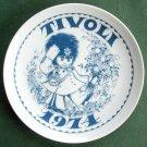 Danish Tivoli Denmark Plate TIVOLI GARDEN 1974