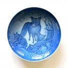 Mother's Day Plate Danish Bing & Grondahl Denmark Fox with Cubs 1979