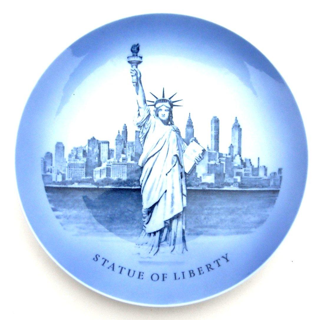 Royal Copenhagen Denmark Statue of Liberty Plate