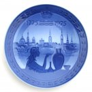 Royal Copenhagen Denmark Bicentenary 200 Years Plate 1975