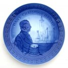 Royal Copenhagen Denmark Hans Christian Orsted 200 Years Plate 1977