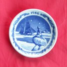 Royal Copenhagen Boxed Christmas Mini Plate 1986