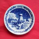 Royal Copenhagen Christmas Mini Plate Ornament 1992
