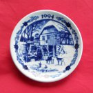 Danish Royal Copenhagen 1994 Boxed Christmas Mini Plate