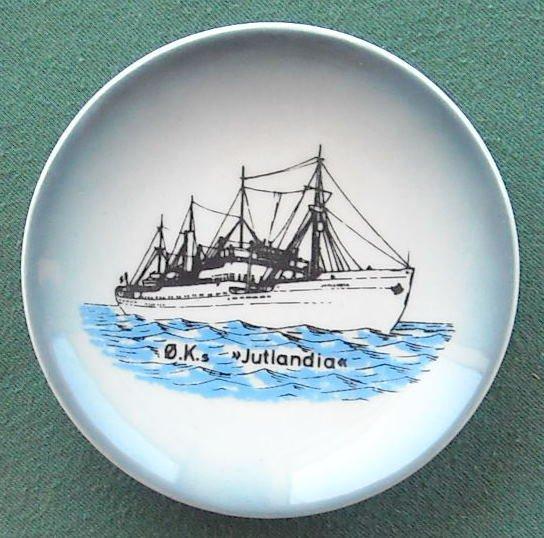 Danish Soholm Bornholm OK Jutlandia Small Plate