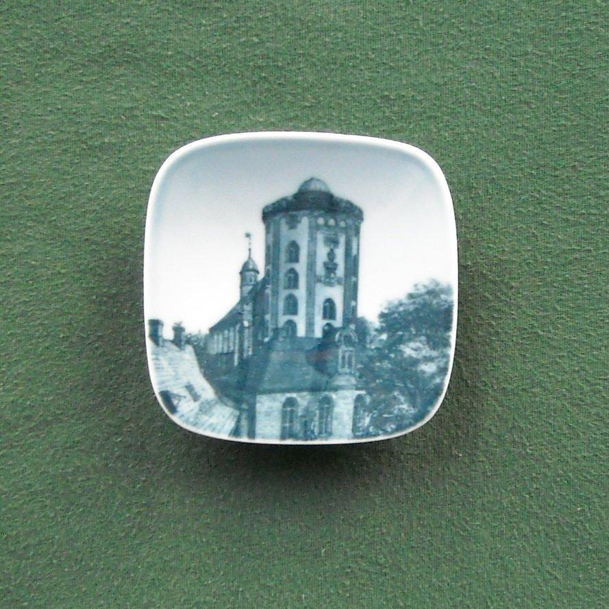 Rundetaarn Bing & Grondahl Copenhagen Denmark Small Plate Ornament
