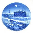 Vintage Danish Bing & Grondahl Copenhagen Christmas plate 1952