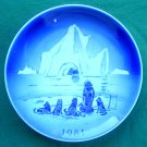 Danish Desiree Svend Jensen Denmark Old Copenhagen Blue plate 1981