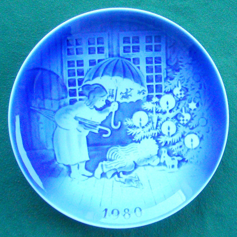 Danish Desiree Svend Jensen Denmark Old Copenhagen Blue plate 1980