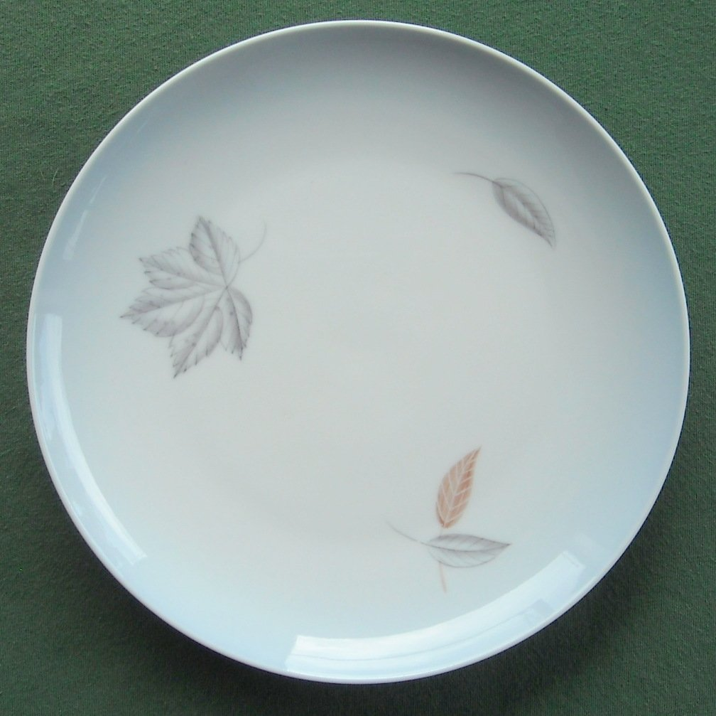 Danish Bing Grondahl Copenhagen Falling Leaves Blue