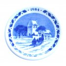 Royal Copenhagen 1984 Small Christmas Plate