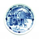 Royal Copenhagen Denmark 1994 Mini Christmas Plate