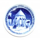 Royal Copenhagen Denmark 1996 Mini Christmas Plate