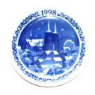 Royal Copenhagen Denmark 1998 Mini Christmas Plate
