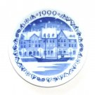 1999 Royal Copenhagen Denmark Mini Christmas Plate