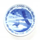 Royal Copenhagen Denmark Mini Christmas Plate 2000