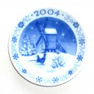 Royal Copenhagen Boxed Plaquette Mini Christmas Plate Ornament 2004