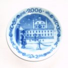 Royal Copenhagen Denmark 2006 Small Christmas Plate Ornament