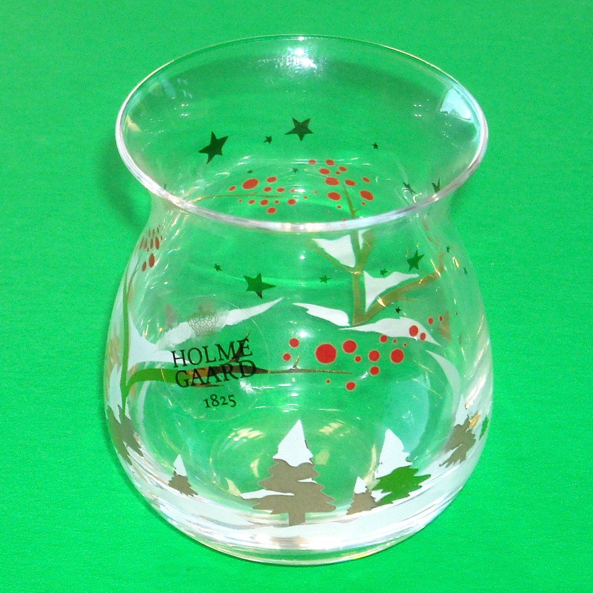 Holmegaard Votive Tealight Candle Holder Christmas 2012