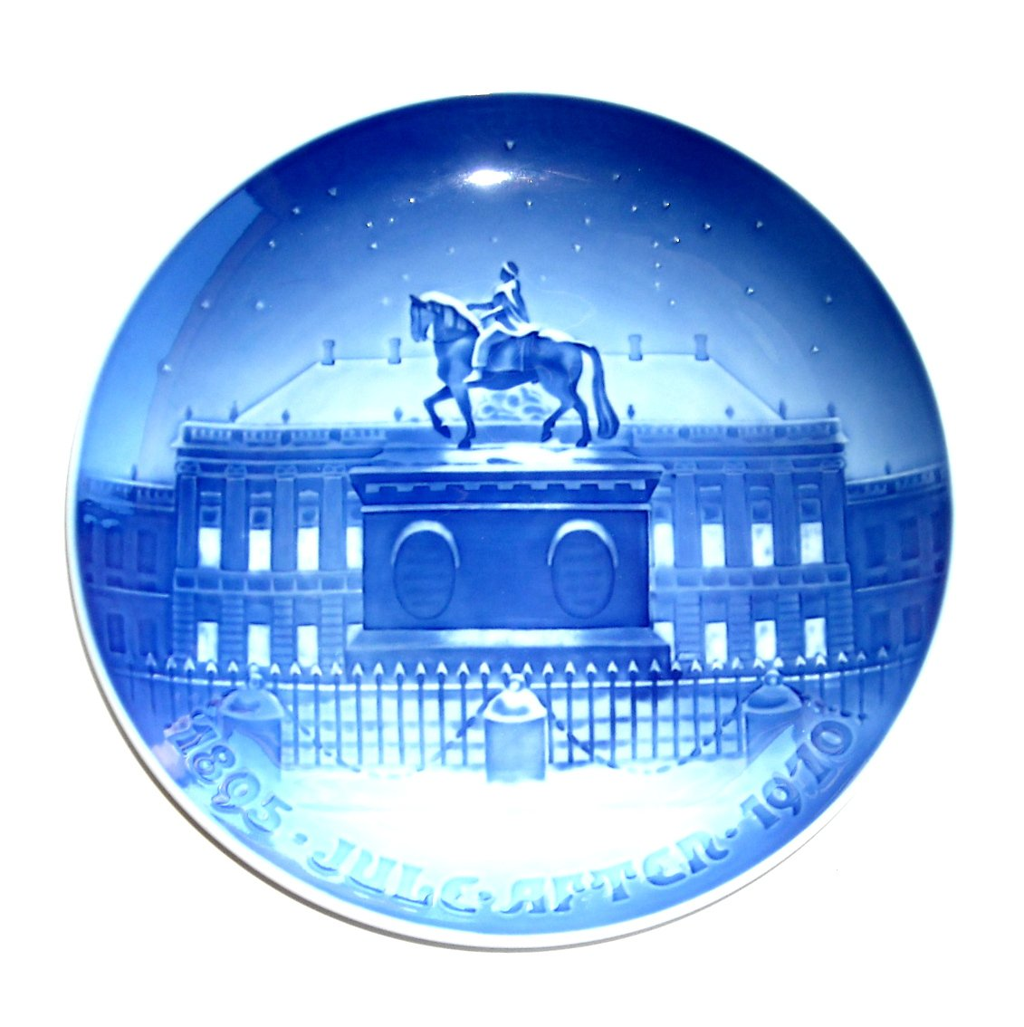 The Royal Palace Bing & Grondahl Copenhagen Jubilee Plate 1970