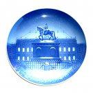 The Royal Palace Bing & Grondahl Copenhagen Jubilee Plate 1970