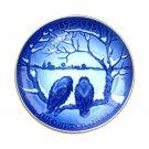The Crows Bing & Grondahl Copenhagen First Edition Centennial Plate