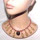 Bowling Dream Vintage Celluloid Necklace