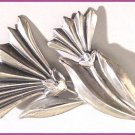 1950s Signed Sterling Vintage JewelArt Daisy Brooch
