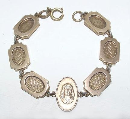 Vintage Portrait Bracelet