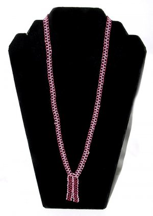 1920s Beaded Tassel Necklace - Free USA Shipping