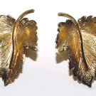 Signed Wells Gold Fill Earrings