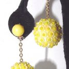 1960s Sequined Go-Go Earrings