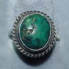 Vintage Navajo Sterling and Turquoise Ring - Free USA Shipping