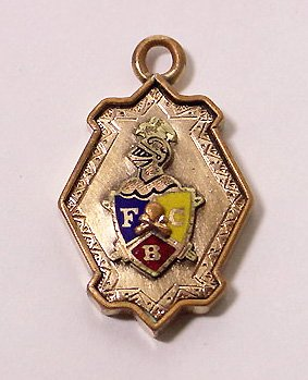 Antique Knights of Pythias Fob