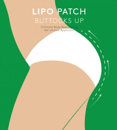 ULTIMATE BODY BUTTOCKS UP WRAPS it works for Butt Enhancement, Anti cellulite. 4 pairs (8 PATCHES)