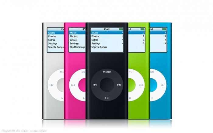 APPLE IPODS NANO