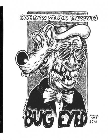 Bug-Eyed #2 Jeff Gaither, Steve Cerio, Roy Tompkins, 1989