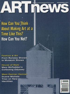 ARTnews magazine Nov 2001 World Trade Center, Duane Michaels