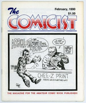 The Comicist #4, small press/ Mini comics fanzine, 1990
