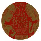 Julie Doucet My Secret Desire promotional sticker 1995