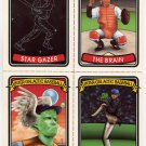 Inter-Galactic Baseball Cards uncut sheet