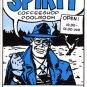 The Spirit Coffeeshop Sticker, Will Eisner, Amsterdam