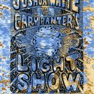 Gary Panter and Joshua White Light Show card, Pee Wee Herman