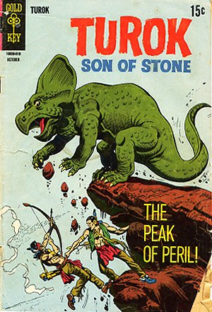 Turok Son of Stone #63, Gold Key, 1968
