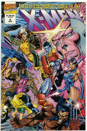 The Official Marvel Index To The X-Men #5, Mint 9.9
