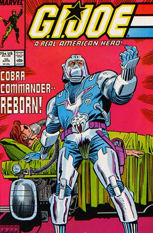 G.I. Joe #58 Cobra Commander, 1987
