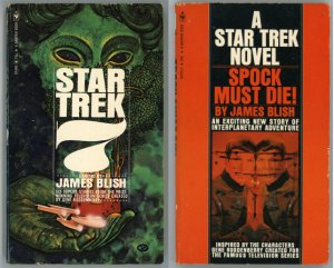 2 Star Trek paperbacks: Star Trek 7, Spock Must Die