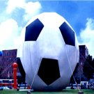 GIANT 25FT TALL SOCCER BALL