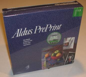 Aldus PrePrint Ver. 1.5 Brand New in original package