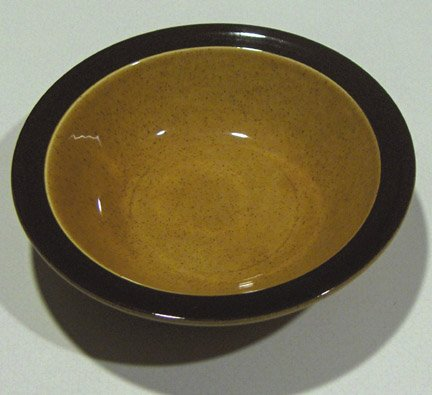 Homer Laughlin Hearthside 'Gold Glade' Serving Bowl